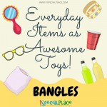 Everyday Items as awesome toys BANGLES