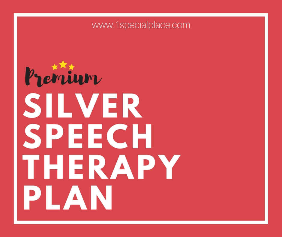 Premium Silver Speech Therapy Plan