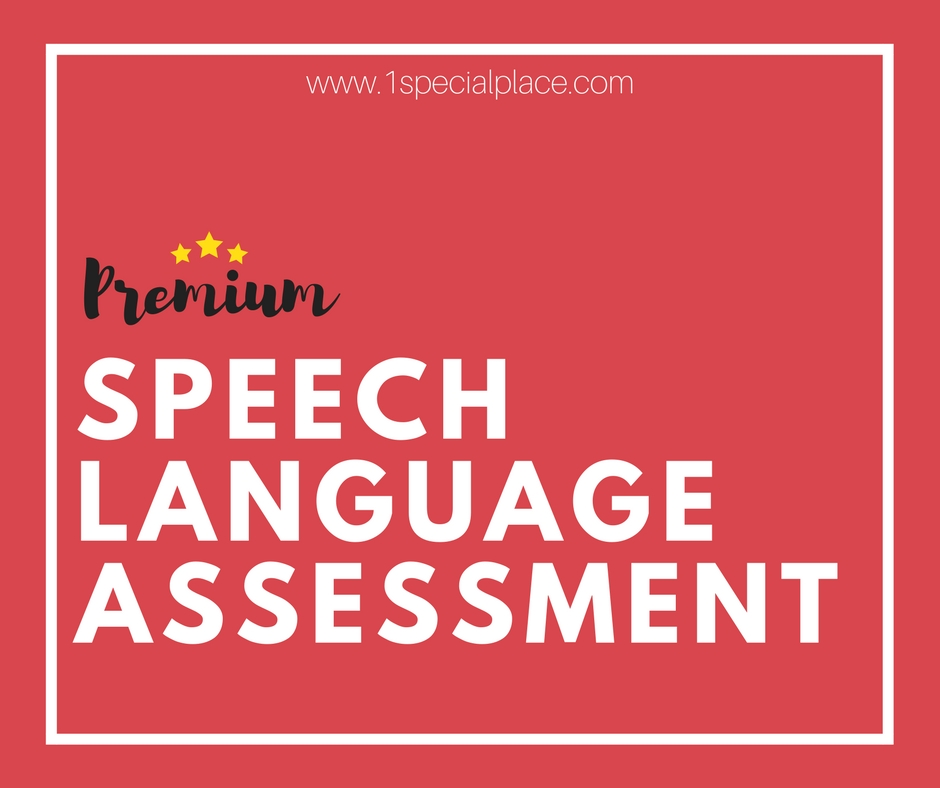 Premium Speech Language Assessment